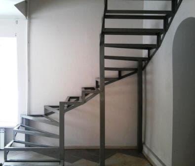 Винтовая, забежная лестница