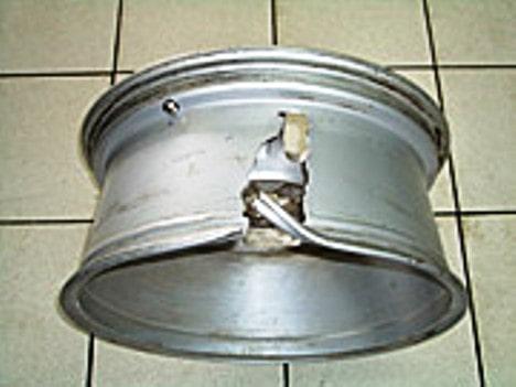 Ремонт алюминиевого диска