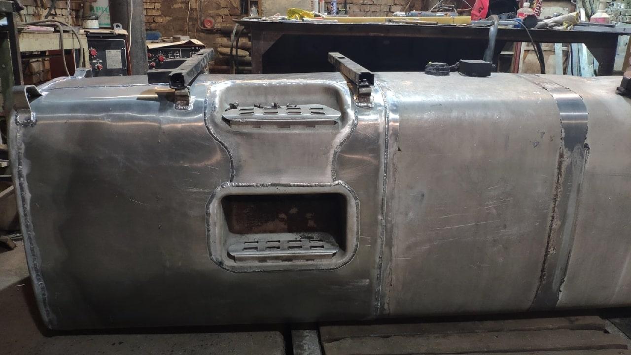 Ремонт алюминиевого бензобака.