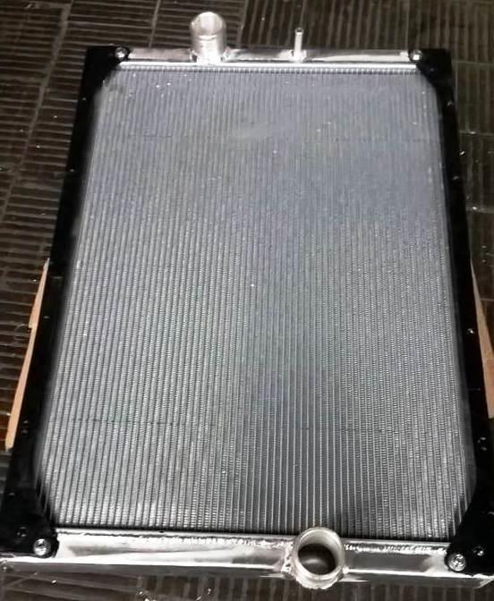 Ремонт радиатора интеркулера