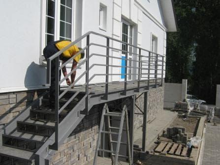 Ремонтные работы стальных конструкций