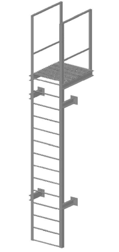 Пожарная лестница тип П1-1